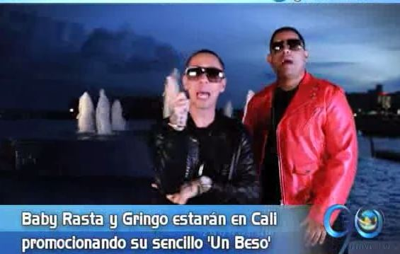 Baby Rasta y Gringo llegan a Cali para cantar su nuevo tema 'Un beso'