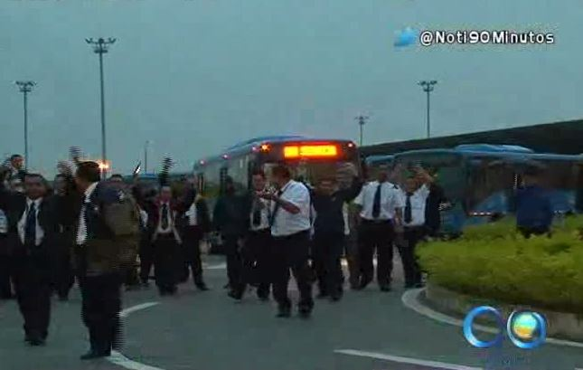 Transportadores Unimetro denuncian retraso en pago de salarios