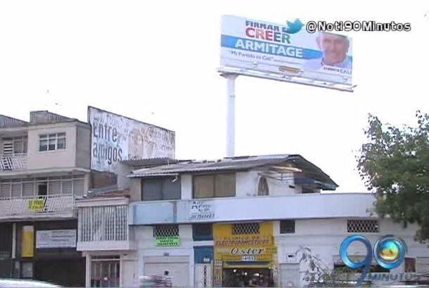 Moe aclara aparición de vallas publicitarias de candidatos independientes