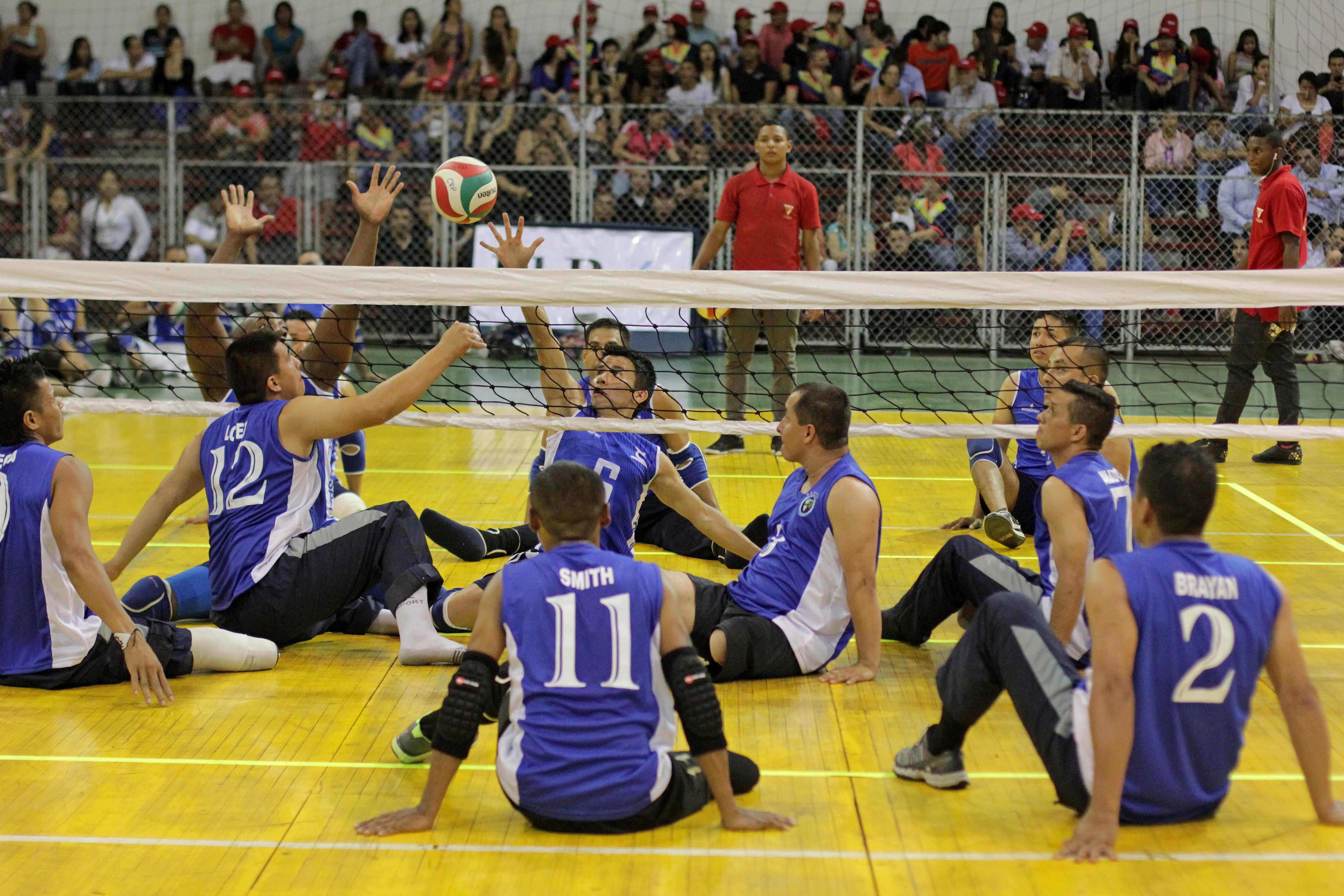 """Inicia la III Copa de Voleibol Sentado en Cali, """"Integración con Inclusión"""""""