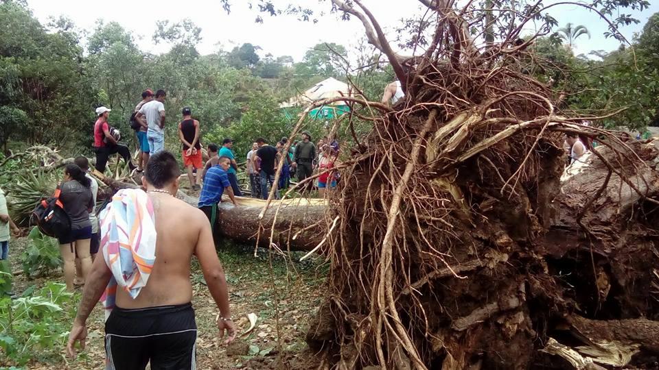 Dos muertos por vendaval en Mondomo, Cauca