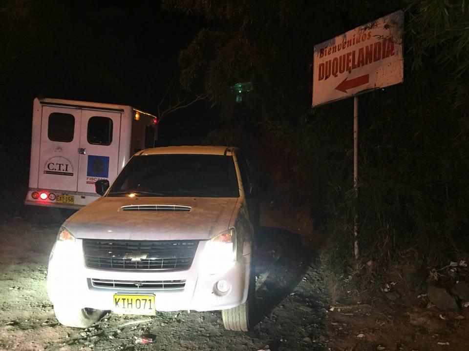 Investigan doble homicidio en corregimiento La Buitrera