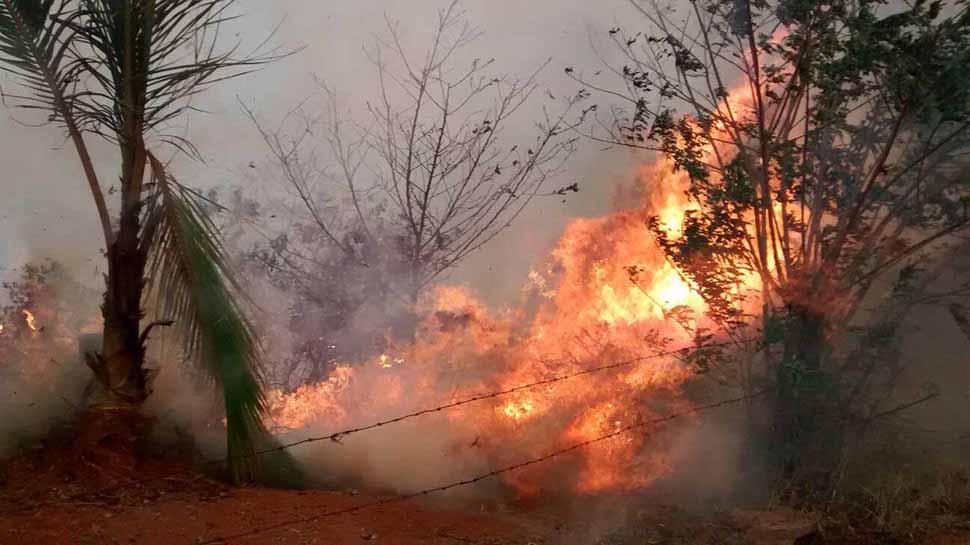 Alerta Roja en incendios forestales en el Valle tras ola de calor