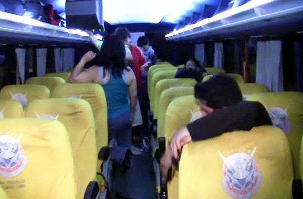 Atracan a pasajeros en un bus intermunicipal