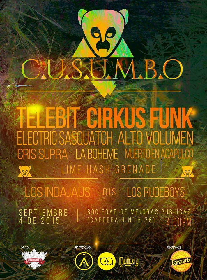 El festival 'Cusumbo' presenta la nueva alternativa musical en Cali.