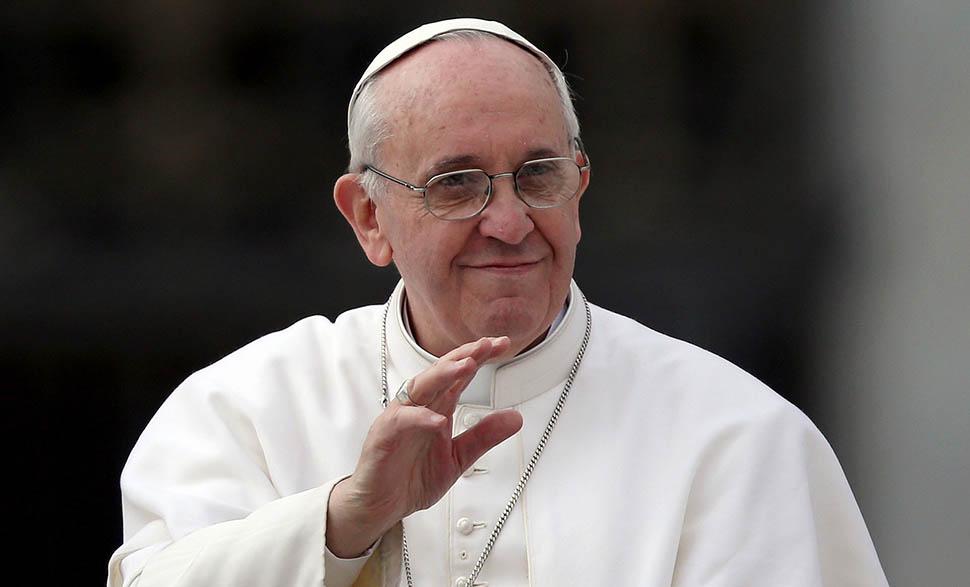Papa Francisco envía mensaje de apoyo al proceso de paz