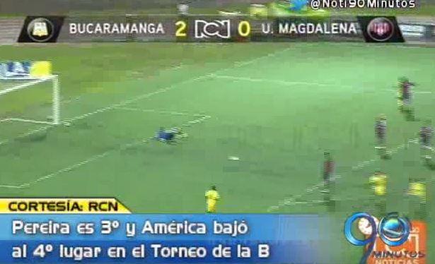Bucaramanga y Pereira continúan con racha victoriosa en la 'B'