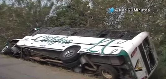 27 heridos dejó el bus intermunicipal que se volcó en Villarrica Cauca