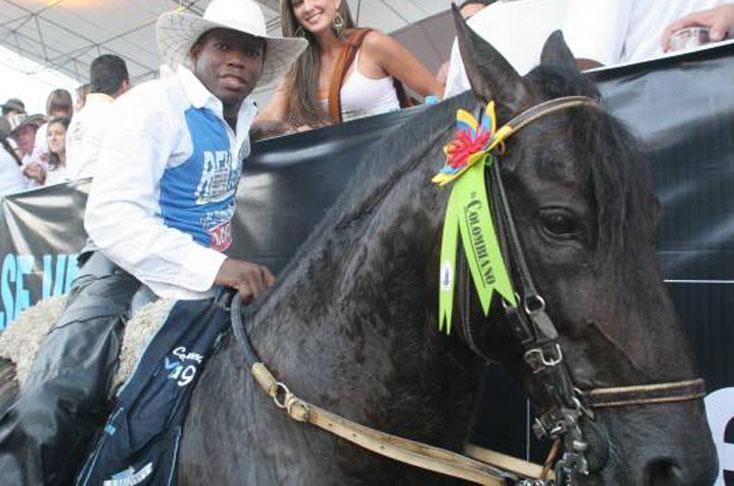 Apareció 'Lucas', el lujoso caballo de Faustino el 'Tino' Asprilla