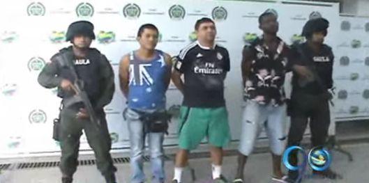 "Capturan a alias ""Mareco"" primo del futbolista Cristian Zapata por secuestro"