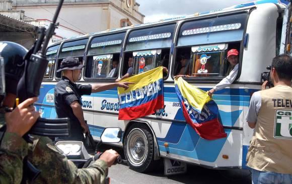 En Cali hay cuatro casos de deportados de Venezuela