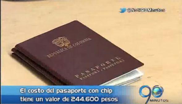 El nuevo pasaporte con chip costará $244.600 a partir del próximo lunes
