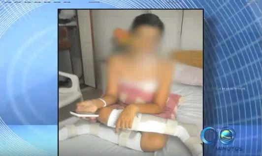 Empeora la salud de niña vacunada contra el papiloma humano