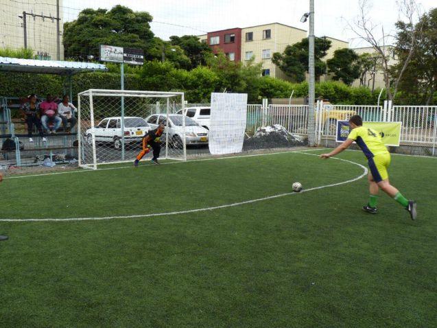 Continúan las emociones de la Liga Argos Futsal para Maestros