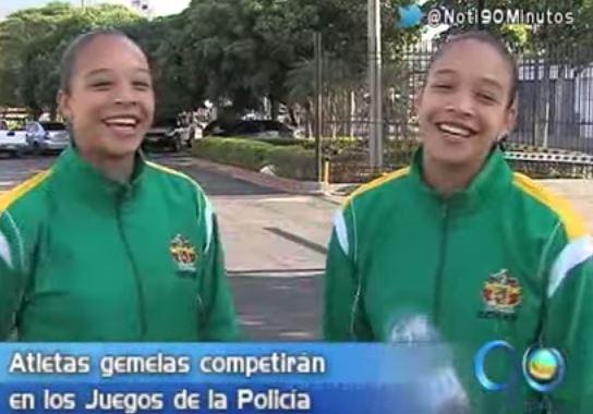 Las 'gemelas fantásticas' representarán al Valle en Juegos de la Policía