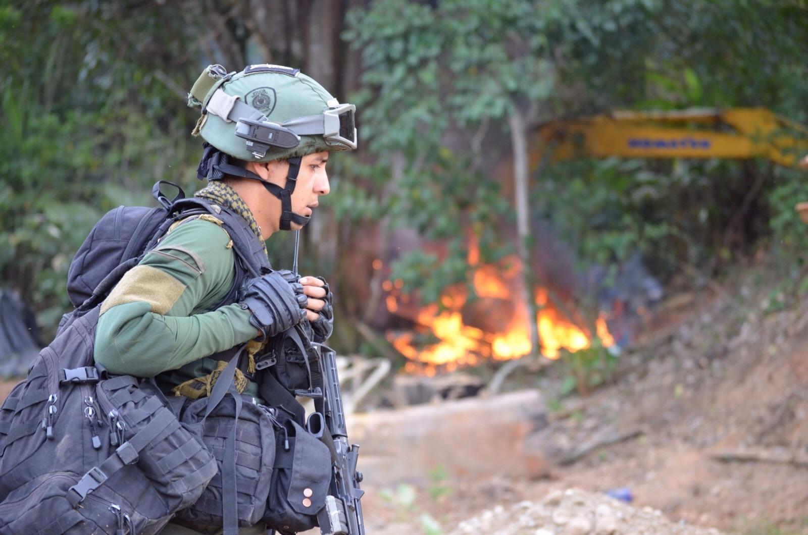 Segundo golpe más fuerte contra la minería ilegal en el Pacífico