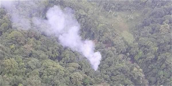 Accidente de helicóptero en Antioquia dejó 15 policías muertos