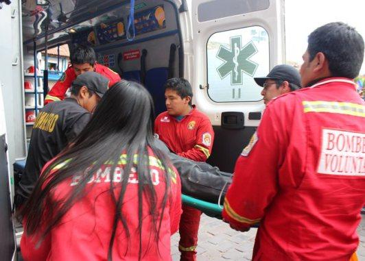 Nueve heridos y dos desaparecidos por accidente de bus