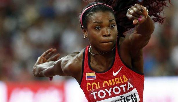 Catherine Ibargüen saltó al título del Campeonato Mundial de Pekín