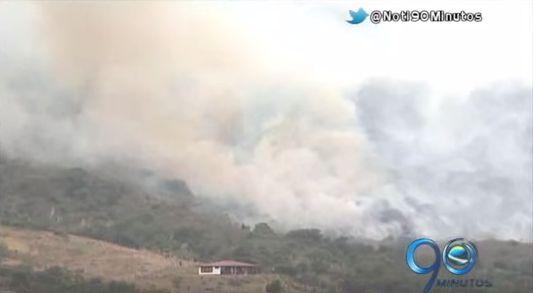 Incendio forestal en Dapa consumió 500 hectáreas de la zona rural de Yumbo