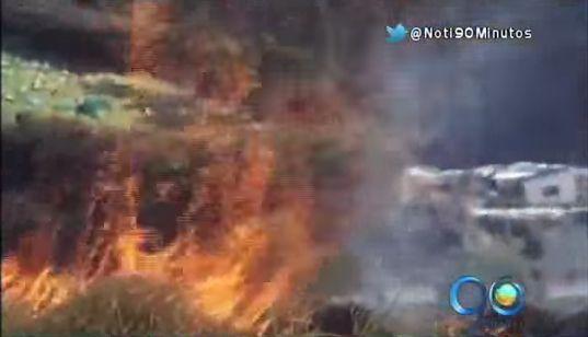 Alerta en el norte de Nariño por incremento de incendios forestales