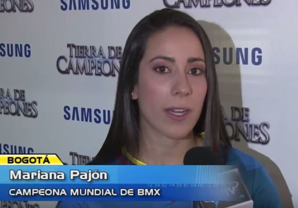 Mariana Pajón envío un mensaje de aliento a los colombianos en Venezuela