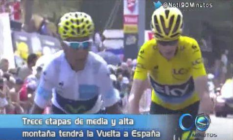 Nairo y Froome vivirán su tercer duelo en la Vuelta a España