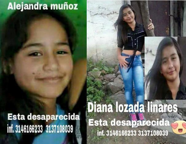 En Yumbo, dos niñas desaparecieron después de salir del colegio