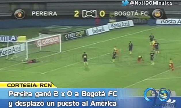 Pereira ganó y da la pelea, Bucaramanga cedió terreno tras perder en la B