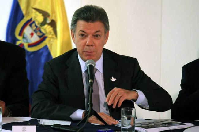 Santos se refirió al cierre de la frontera con Venezuela