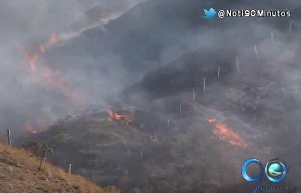 CVC asegura que mayoría de incendios forestales son causados por pirómanos