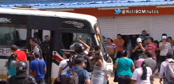 Secretario de Tránsito desmintió cancelación de rutas de buses Recreativos