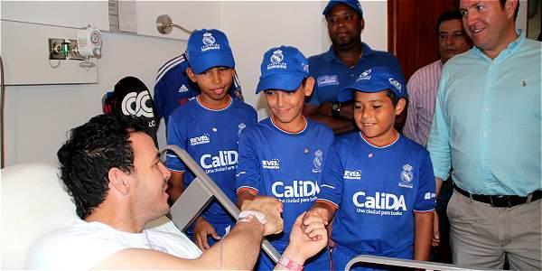 Alexis Viera será formador de niños de la Fundación del Real Madrid