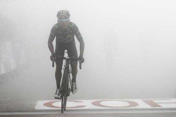 Nairo Quintana recuperó dos puestos en la general de la Vuelta