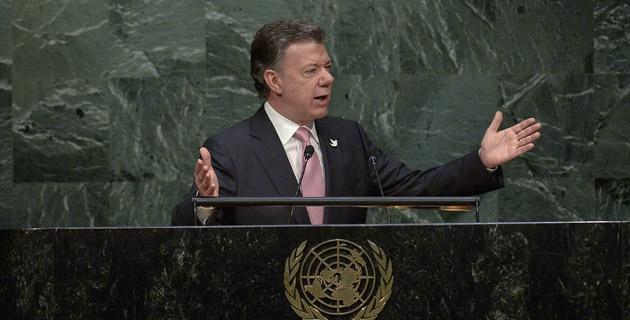 Presidente se comprometió con el desarrollo sostenible del planeta