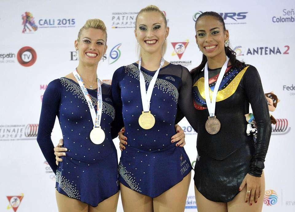 La caleña Viviana Osorio hizo bronce en el Mundial de Patinaje Artístico
