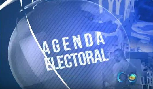 Agenda Electoral hoy con Michel Maya, Roberto Ortiz y Chistian Garcés