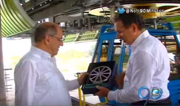 Alcalde realizó recorrido en Míocable en compañía de ingenieros italianos