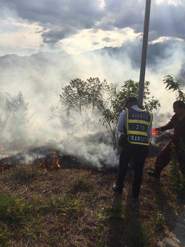 Incendios en Pance consumieron 50 hectáreas de vegetación