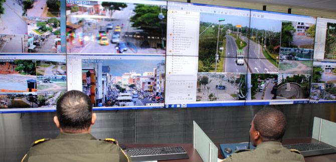 Ministro del interior revisará el avance de cámaras de seguridad instaladas en Cali