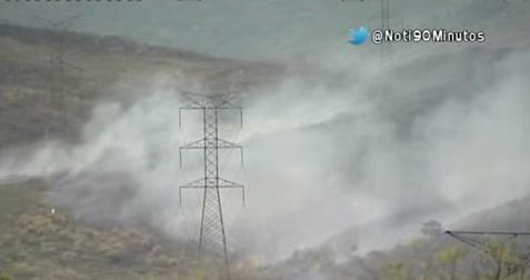 Capturan pirómanos causantes de incendio forestal en Yumbo