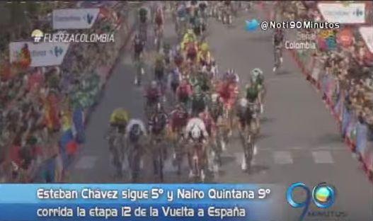 Chávez y Quintana conservaron posiciones tras etapa 12