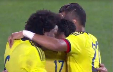 Colombia y Perú empataron 1-1 en amistoso previo a las eliminatorias Rusia 2018