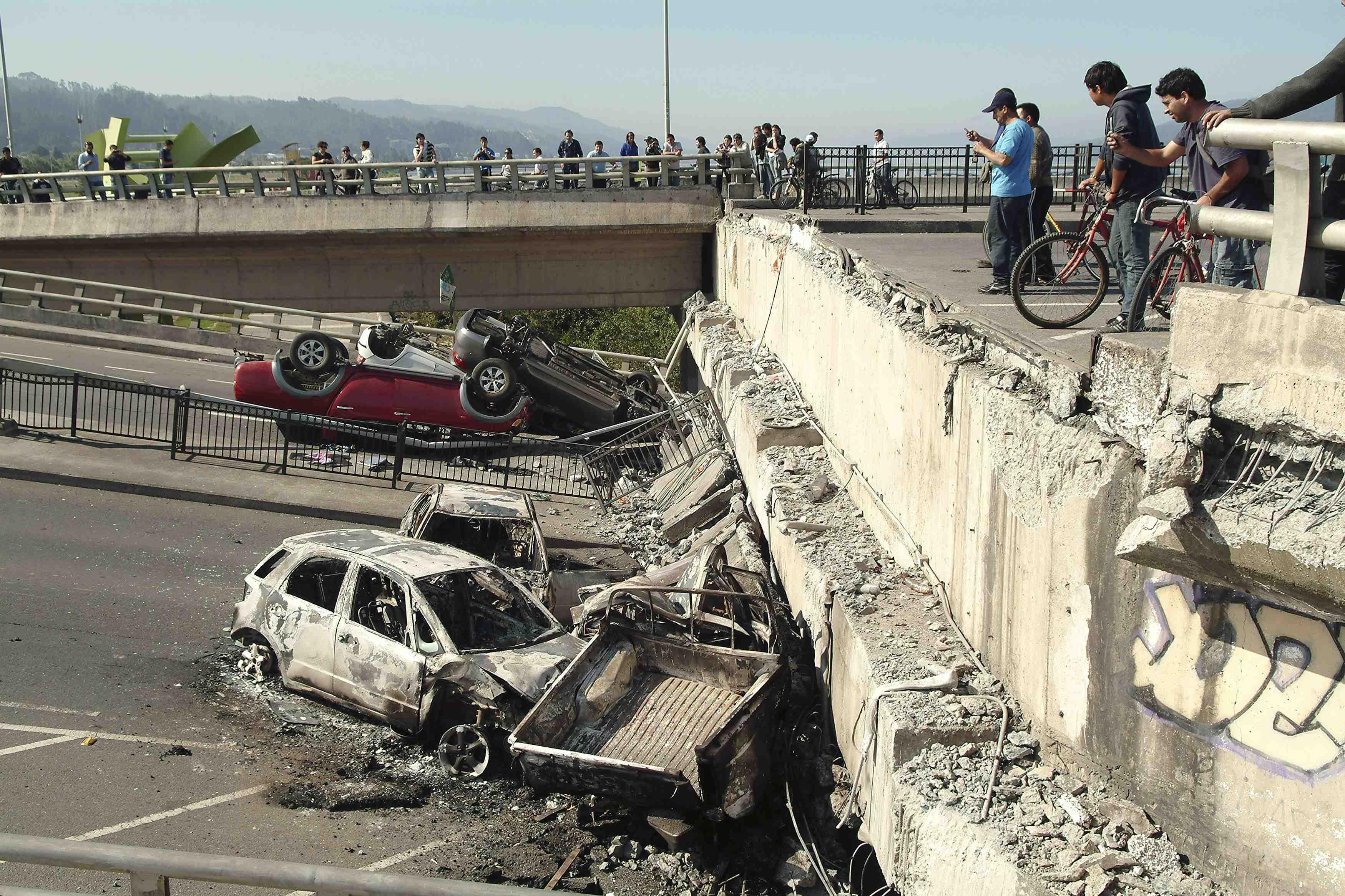 Colombianos se reportan desde Chile tras el terremoto