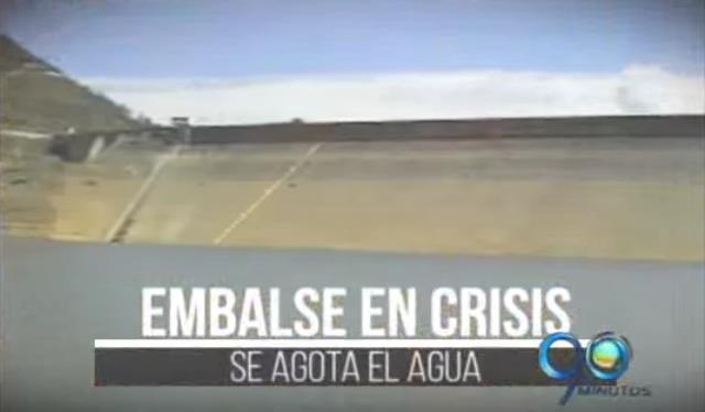 Embalse En Crisis, se agota el agua: Salvajina al 30%