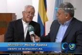 Papa Francisco le píde al obispo de Buenaventura Héctor Epalza un año mas en su labor