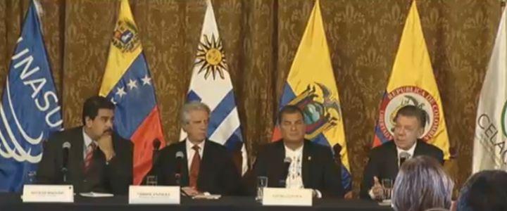 7 acuerdos se concretaron tras reunión entre Santos y Maduro