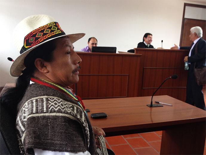 Indígenas marcharon  exigiendo la libertad para Feliciano Valencia
