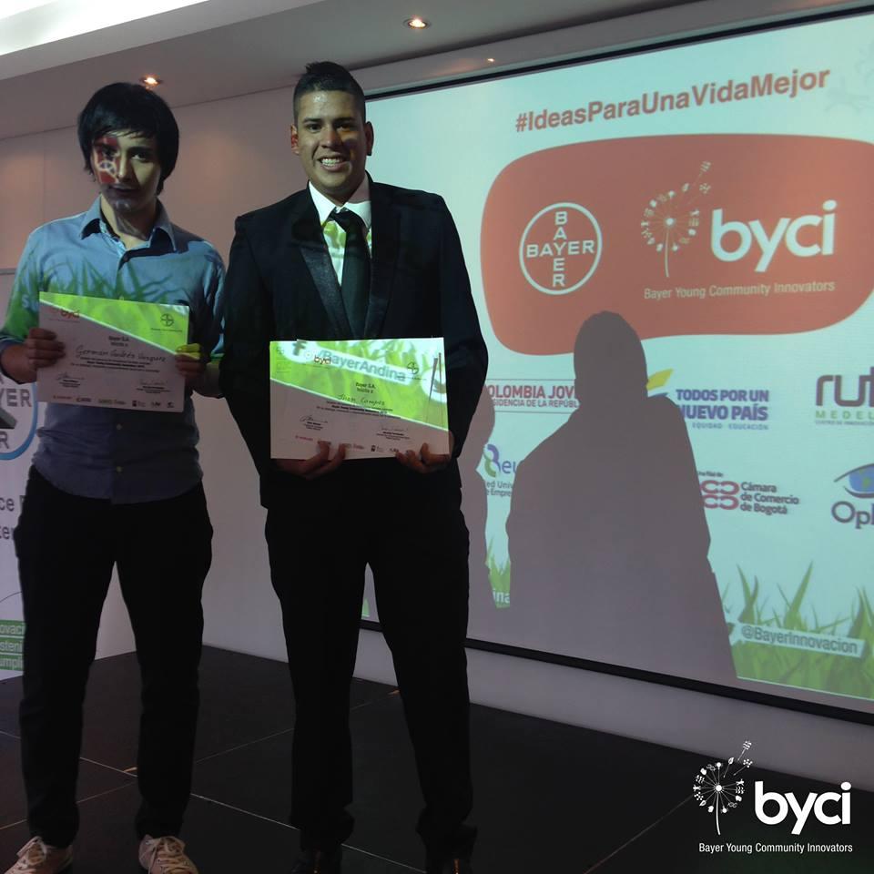 Jóvenes vallecaucanos, ganadores en el proyecto Bayer-Byci2015