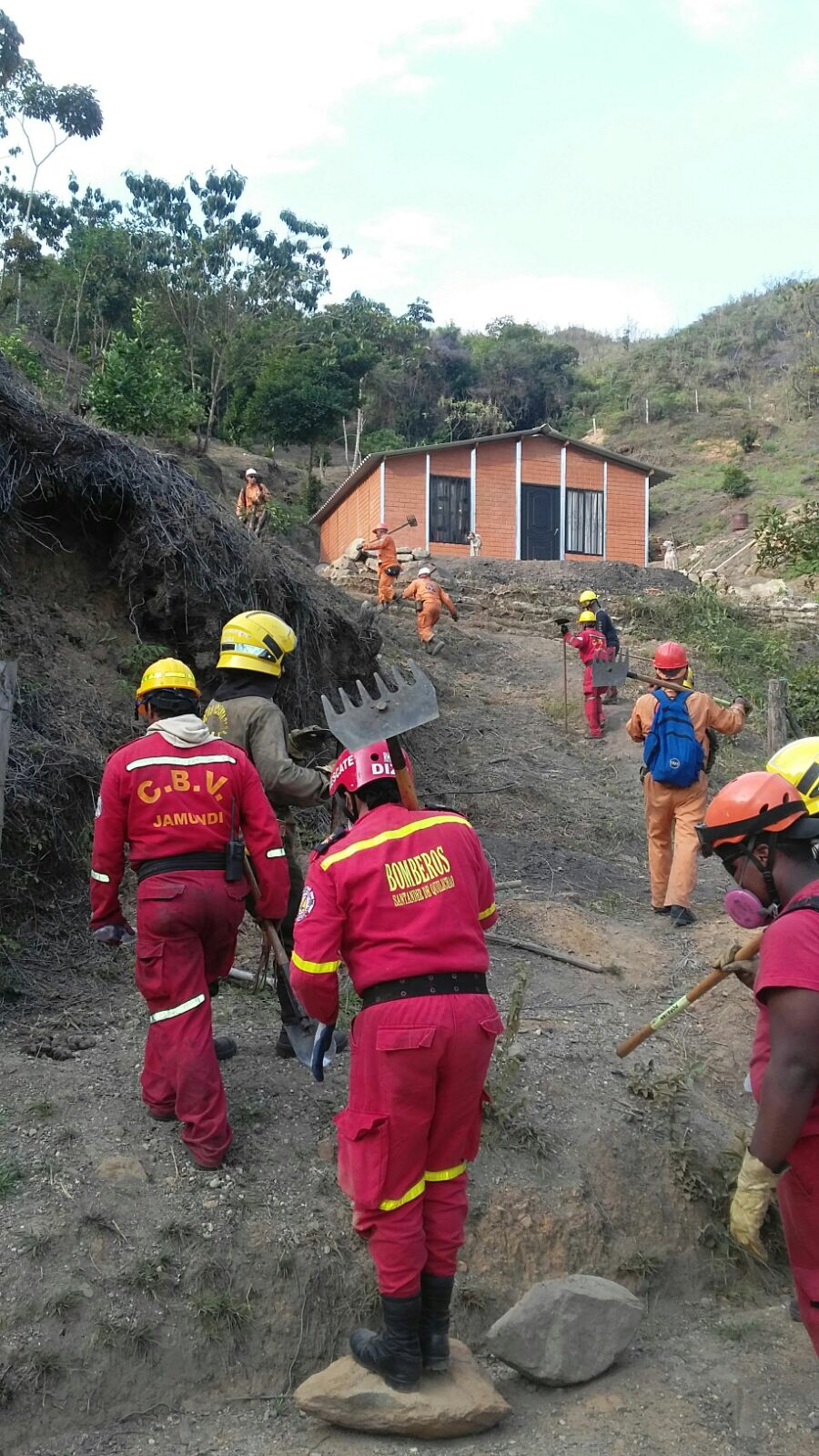 120 hectáreas quemadas tras incendio en Jamundí